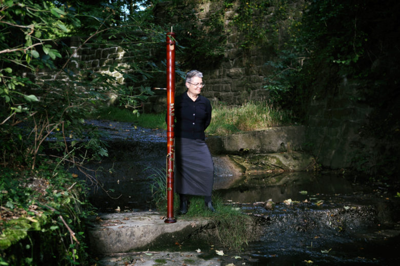 Pia Palme & contrabass by Maria Frodl