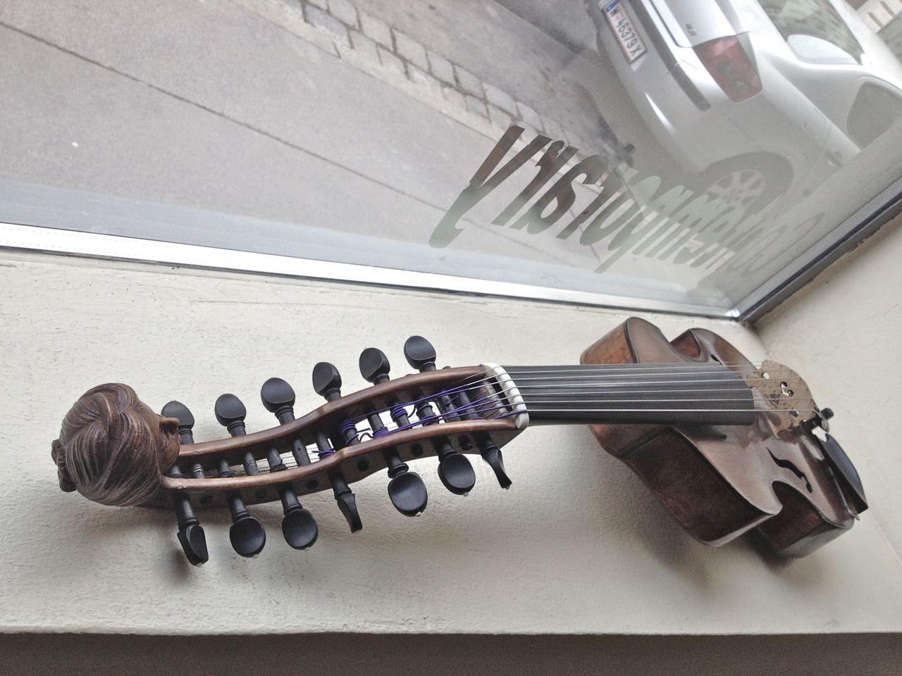 The Viennese instrument at Klangforum.