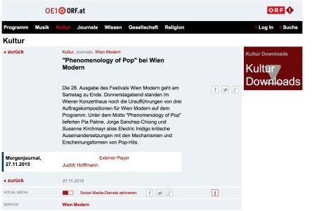 Screenshot Morgenjournal 27:11