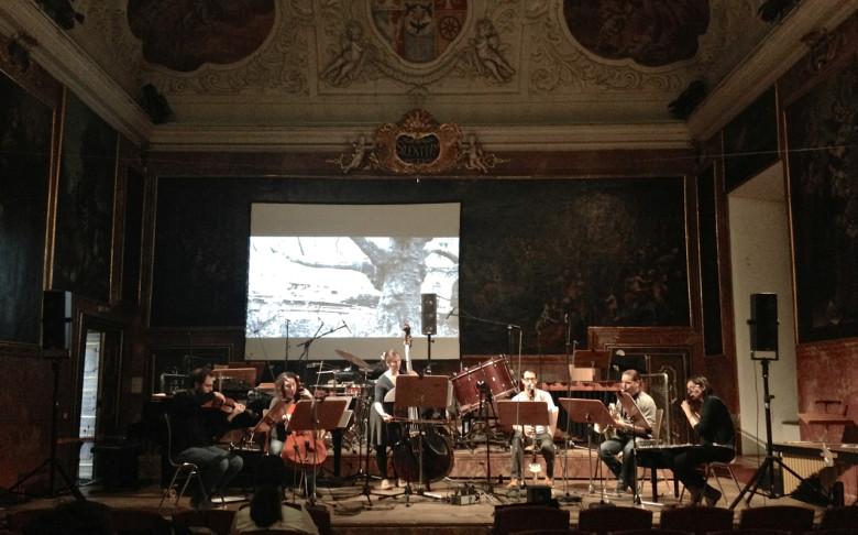 Ensemble Schallfeld rehearsing @pia palme